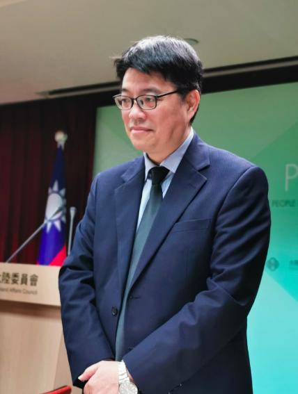 陸委會發言人邱垂正。記者賴錦宏/攝影