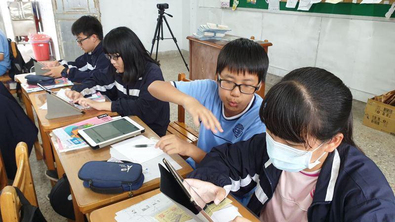 台南市教育局因應開學延後,提供多元線上學習,讓學習不中斷。圖/台南市教育局提供