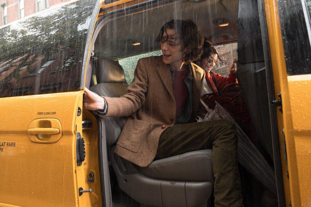 伍迪艾倫拍出浪漫動人的紐約下雨天。圖/甲上提供