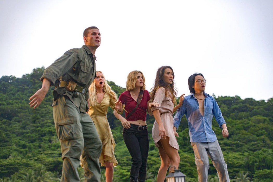 「逃出夢幻島」結合懸疑、驚悚和奇幻。圖/索尼提供