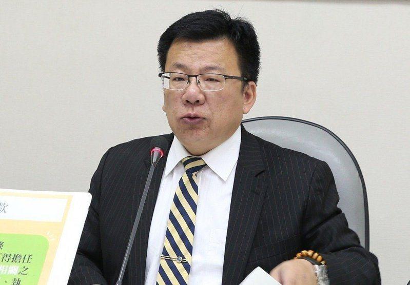 總統府副秘書長李俊俋。 圖/聯合報系資料照片