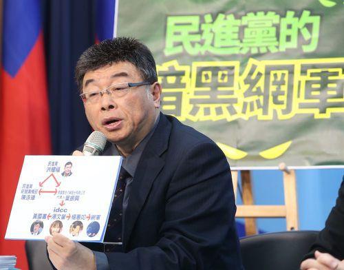 2004親民黨立院選舉大敗,邱毅隨後退黨。現為國民黨員。圖/聯合報系資料照片