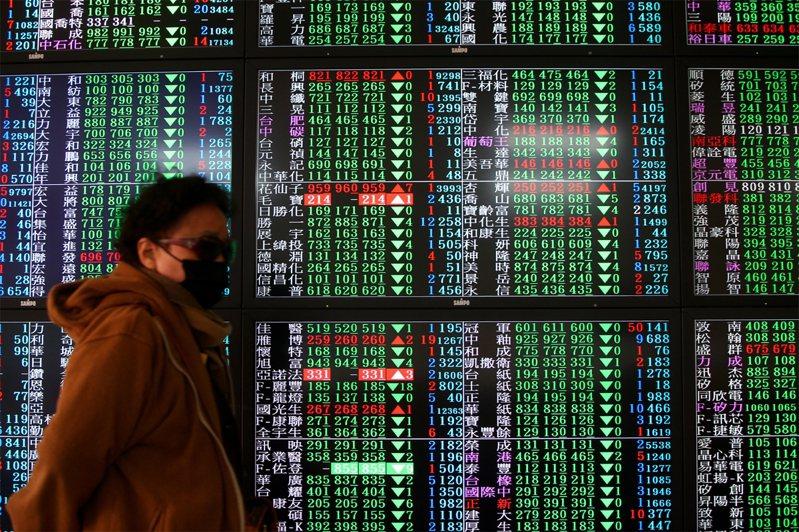 台股今日開盤11,712.71點,下跌36.97點。示意圖/聯合報系資料照