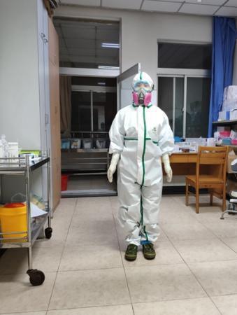 """24歲護士的請戰書:""""我未婚,沒牽掛""""。 取材自中國青年報"""