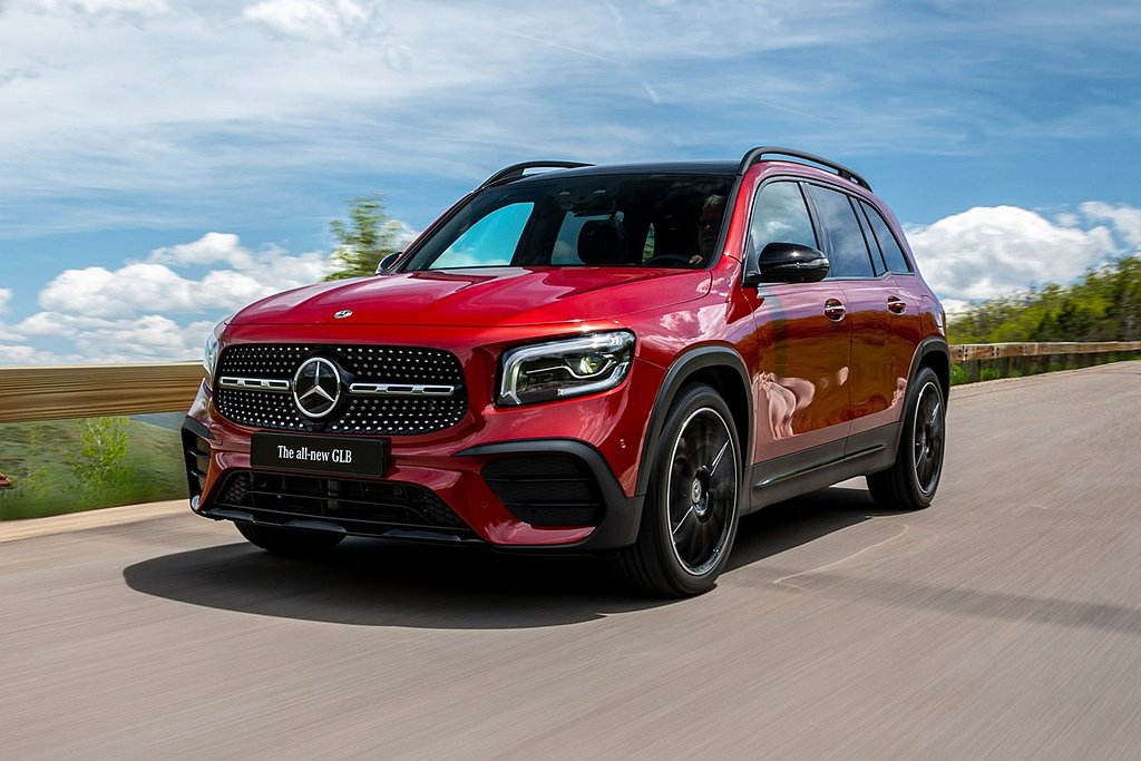 Mercedes-Benz GLB新休旅作品入圍2020年度世界風雲車獎項。 圖...
