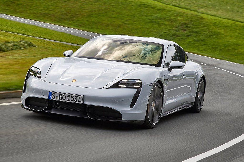 Porsche Taycan。 Porsche提供