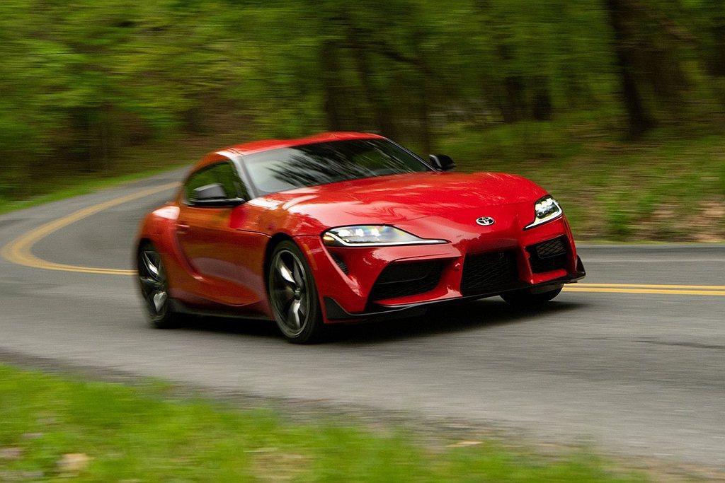 Toyota GR Supra入圍2020年度性能車獎項。 摘自Toyota