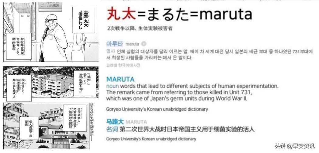 第二次世界大戰中,日本帝國關東軍生化部隊731部隊曾把進行人體實驗的受害者稱為「...