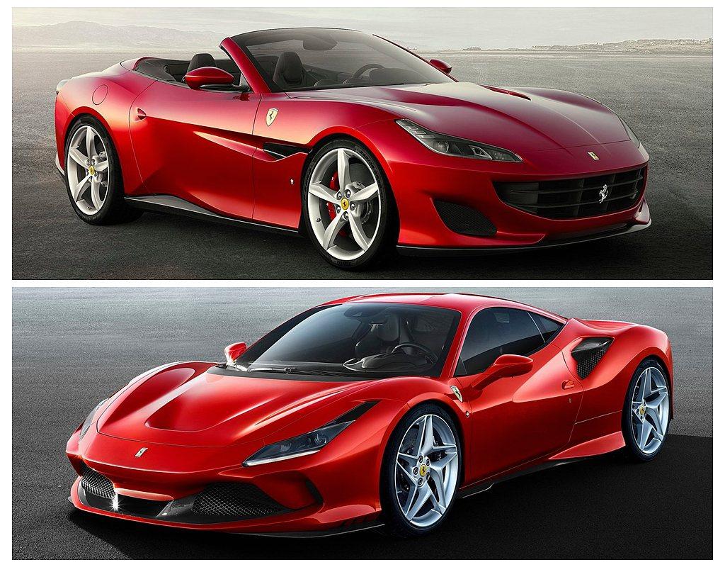 受益Ferrari Portofino、812 Superfast兩款車型熱賣,...