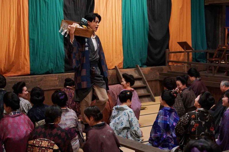 《王牌辯士》劇照。 圖/金馬影展