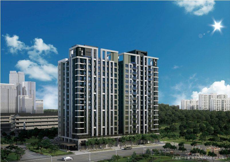 「頣昌豐岳」以「舒適居住空間品質」的產品素求為賣點,獲客戶認同。 業者/提供