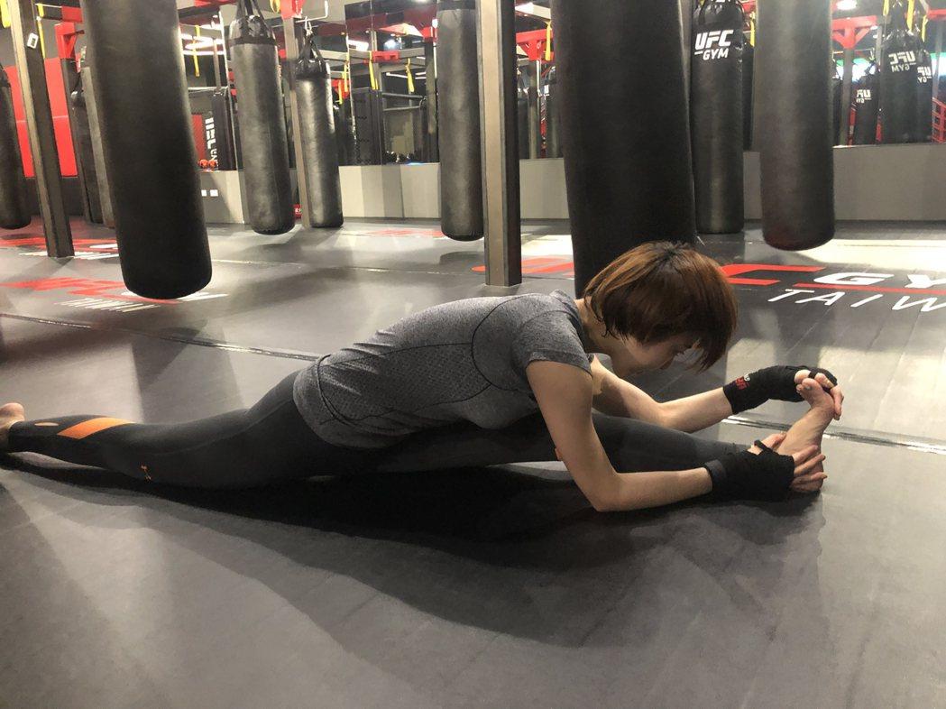 特蕾沙喜歡上健身房。圖/樂迷國際提供