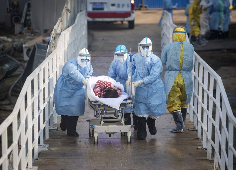 中國湖北省近日將電腦斷層掃描影像列為臨床診斷武漢肺炎的標準。 美聯社