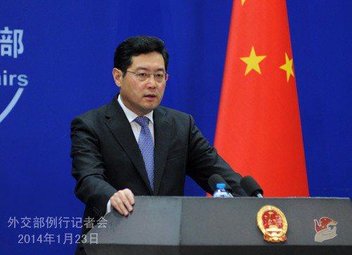 大陸外交部副部長秦剛。圖/取自大陸外交部網站