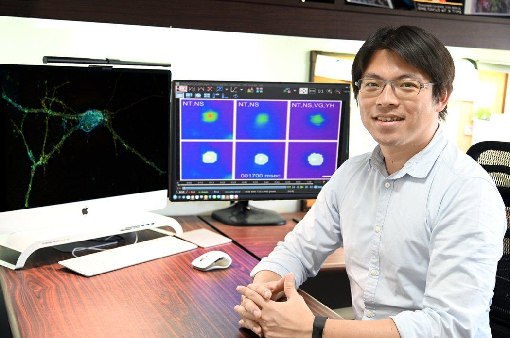 清華分醫所副教授林玉俊解開了生物為何能聽見超音波之謎。 圖/清大提供