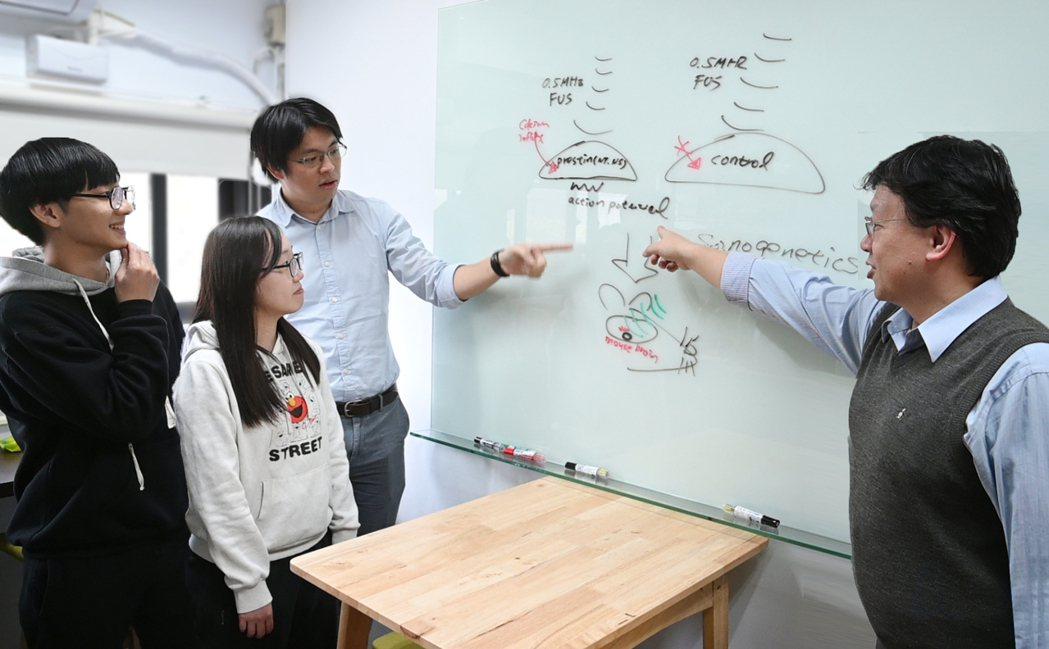 清華跨領域團隊研發出將超音波應用於治療疾病的嶄新技術。 圖/清大提供