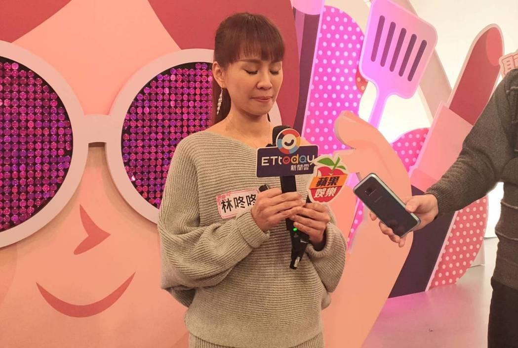 林咚咚受訪時難過落淚。記者李姿瑩/攝影