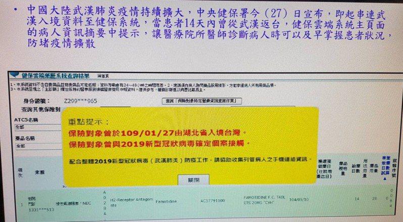 台東縣1民眾因出現呼吸道症狀求診時隱匿旅遊史,衛生局今天開罰3萬元。圖/台東縣衛生局提供