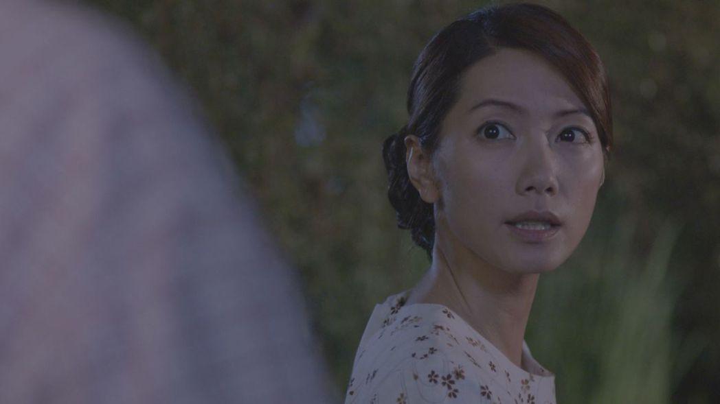 林韋君在「四月望雨」戲中詮釋悲情堅毅的時代女性。圖/台視提供