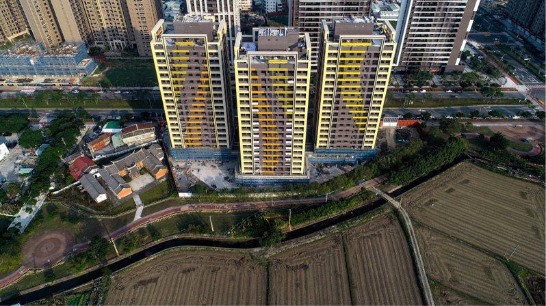 桃園市八德二號社會住宅將於今年完工,將是桃園第2處社宅。圖/桃園市住宅發展處提供