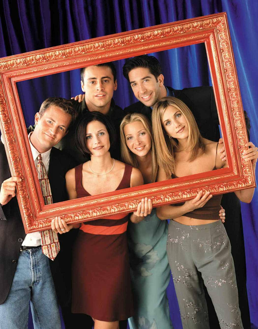 「六人行」至今仍是影音串流平台上的高收視人氣夯劇。圖/路透資料照片
