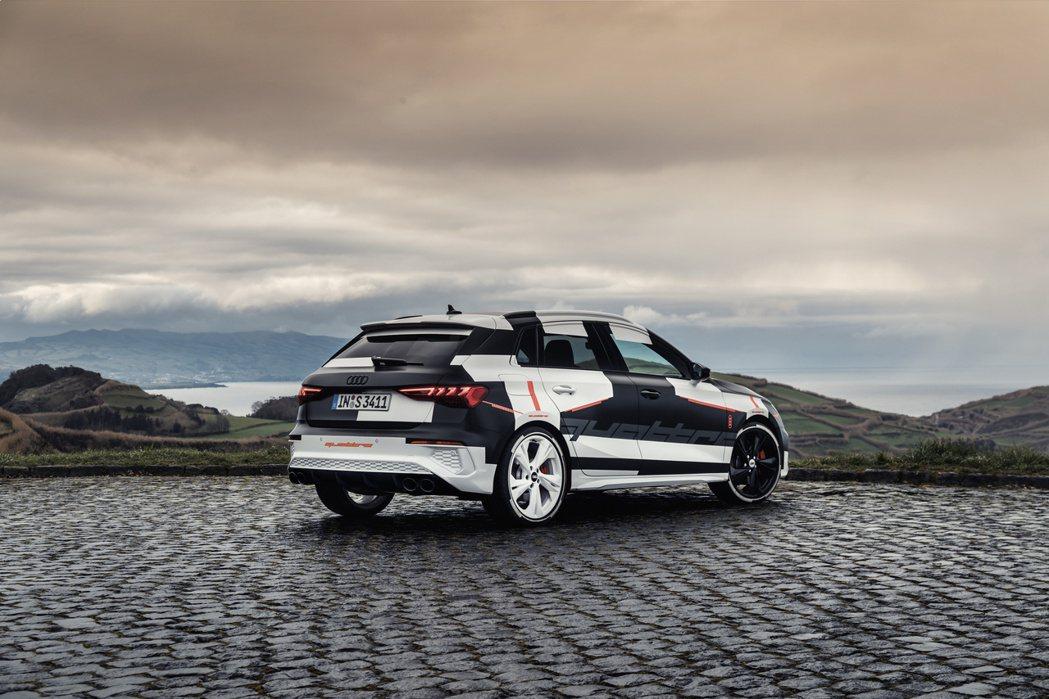 全新第四代Audi A3將於日內瓦車展上發表。 摘自Audi