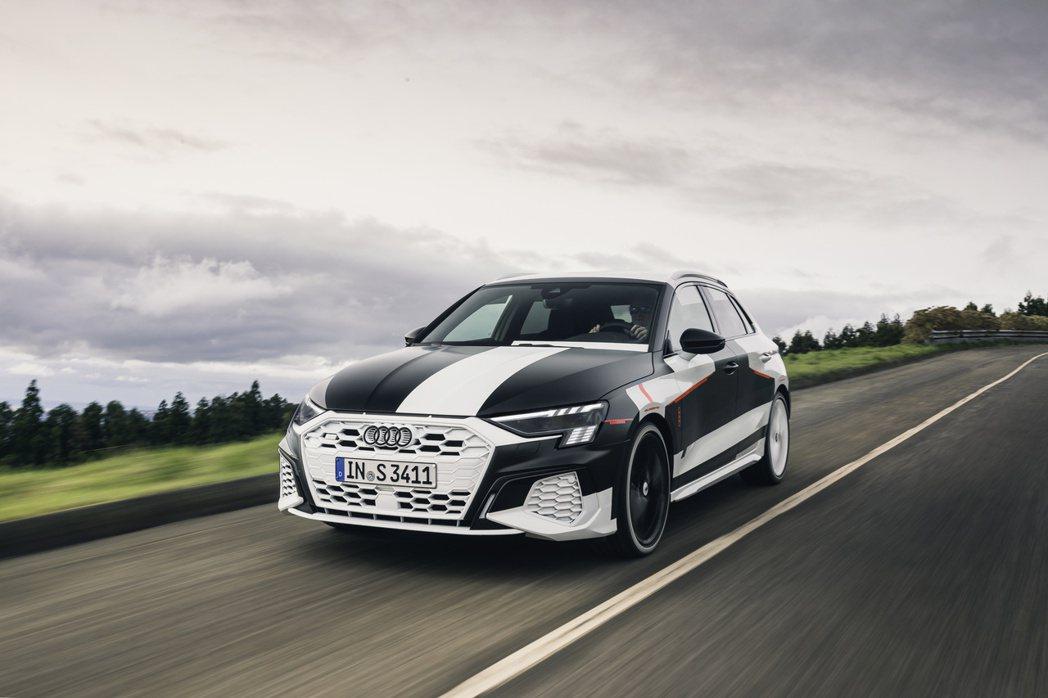 新世代Audi S3 Sportback已是準量產姿態。 摘自Audi