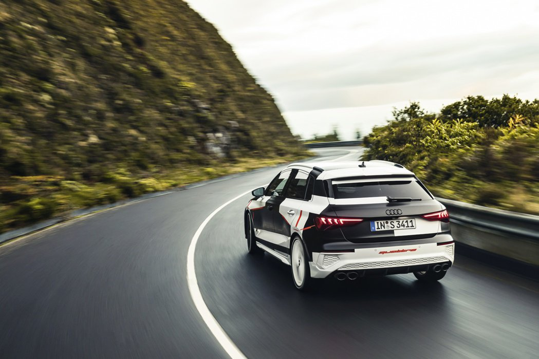 圖為新世代Audi S3 Sportback Prototype。 摘自Audi