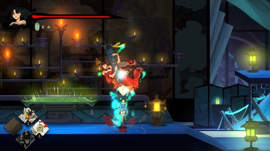 整個遊戲無不充滿古墨風的獨特魅力。