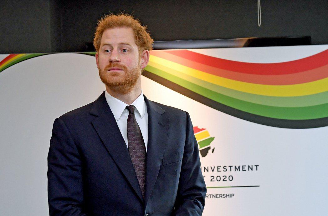 哈利據傳思念在英國的生活與家人,常傳簡訊問候關心。圖/路透資料照片
