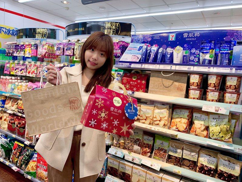 7-ELEVEN即日起至2月25日展開日本雪肌粹、7PREMIUM導入台灣周年慶活動。圖/7-ELEVEN提供