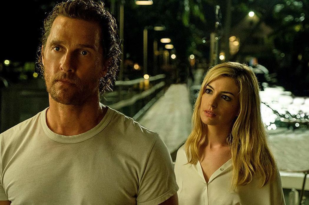 「驚濤佈局」馬修麥康納與安海瑟薇各自入圍最差男女主角。圖/摘自imdb