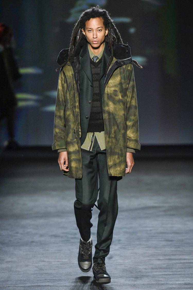 rag & bone 2020秋冬結合了紐約上、下城區截然不同的服裝風格。圖/r...