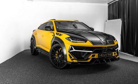 覺得原廠的Lamborghini Urus不夠狂? 那就交給Keyvany幫他變身!