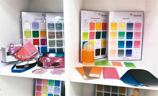邁特創新提供客戶選擇的材質庫。
