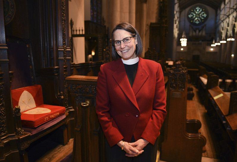 聖公會密西根教區任命第一位女主教,也是第一位女同主教。圖/世界日報提供