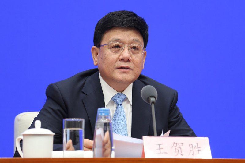 王賀勝調任湖北省委常委。 中新社