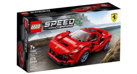 買不起Ferrari F8 Tributo的我們 還是來買樂高模型吧!