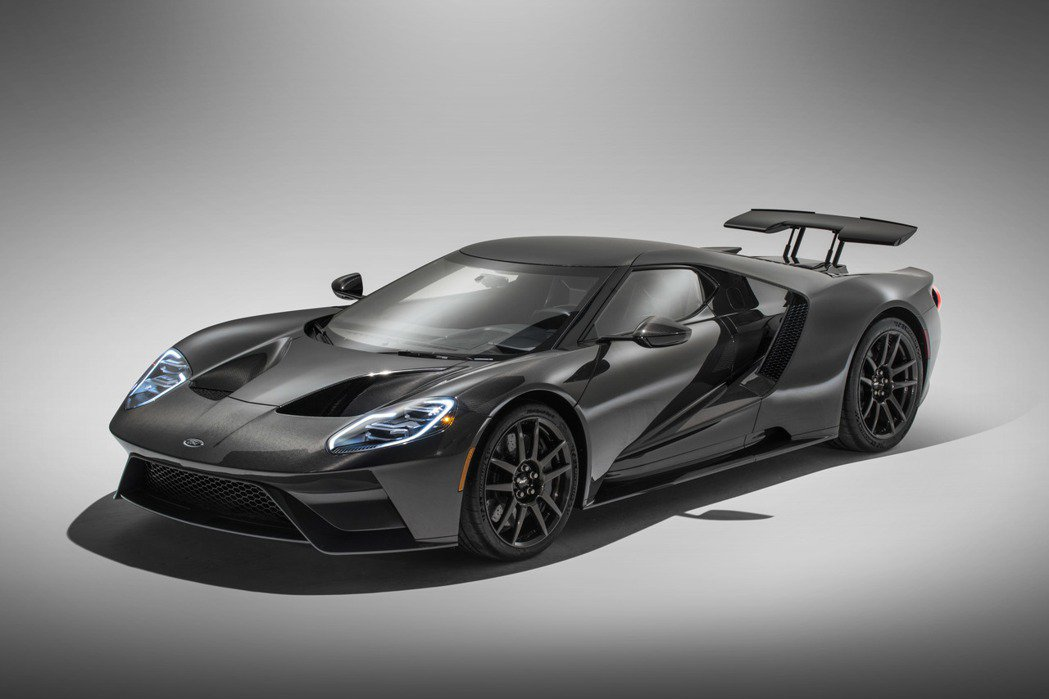 全車都用碳纖維打造的Ford GT Liquid Carbon Edition真...