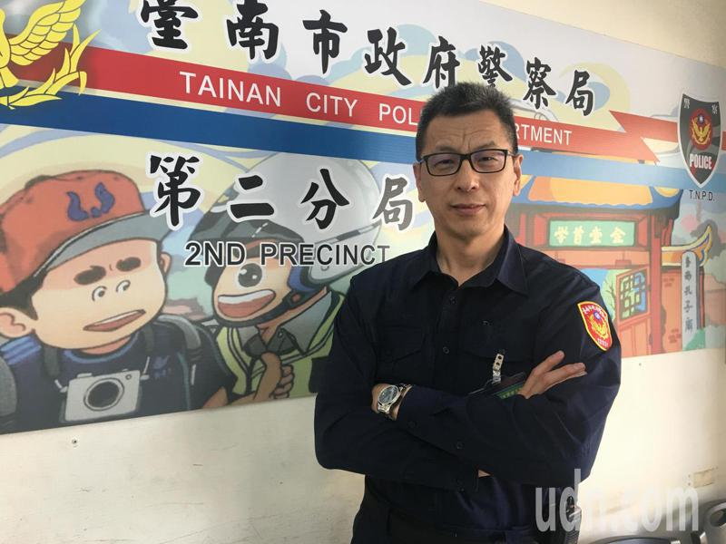 台南市警二分局警備隊副隊長楊義雄,參加警大警佐班教育訓練及實習,本月順利結業,取得陞任巡官任用資格,候缺檢討派補。圖/楊義雄提供