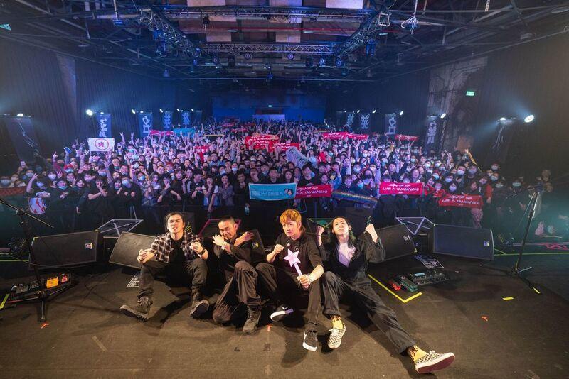 滅火器樂團連兩天舉行演唱會。圖/火氣音樂提供
