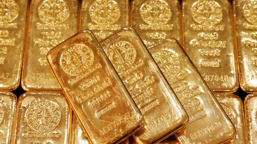 黃金。 路透。