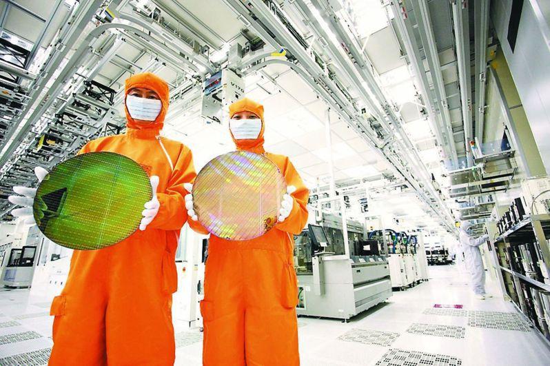 半導體晶圓廠生產線。 圖/聯合報系資料照片