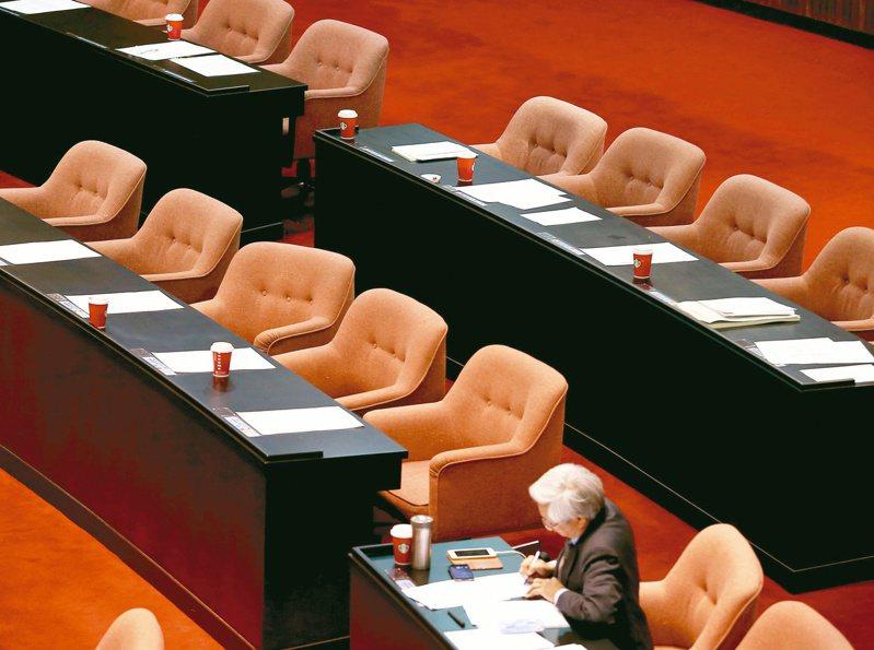立法院擬因防疫延後開議,引發討論。圖/聯合報系資料照片