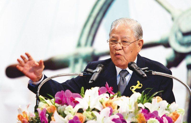 前總統李登輝。 圖/聯合報系資料照片