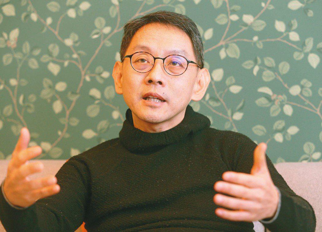PSA華科事業群董事長暨華新科董座焦佑衡。 記者胡經周/攝影