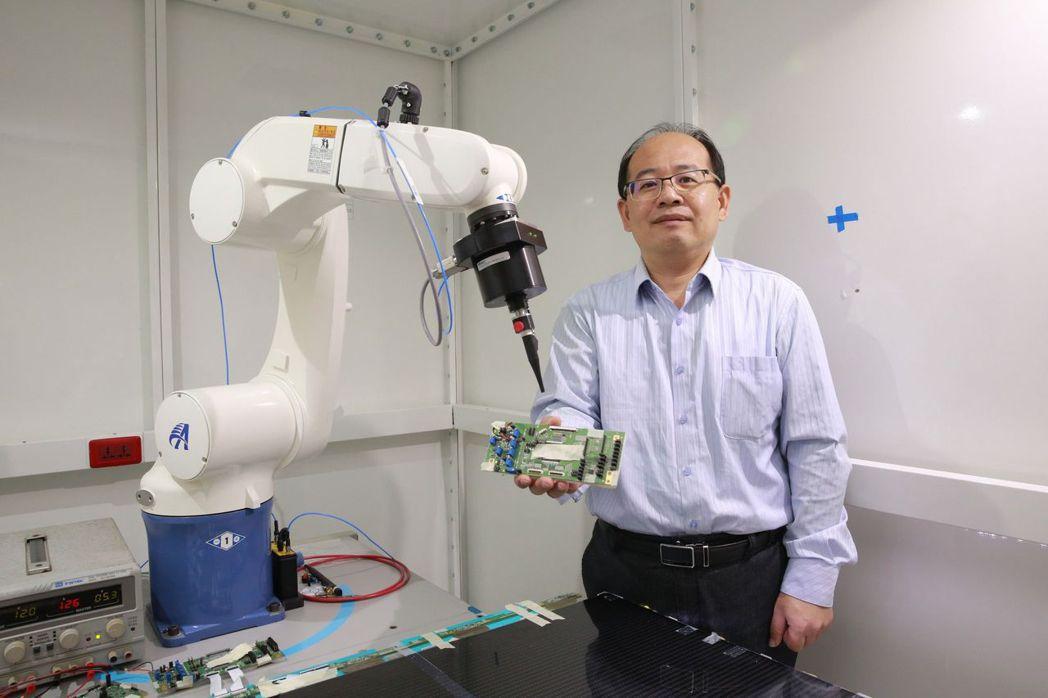 吳松茂說,這套檢測技術可徹底解決且提供完整改善方案。 高雄大學/提供