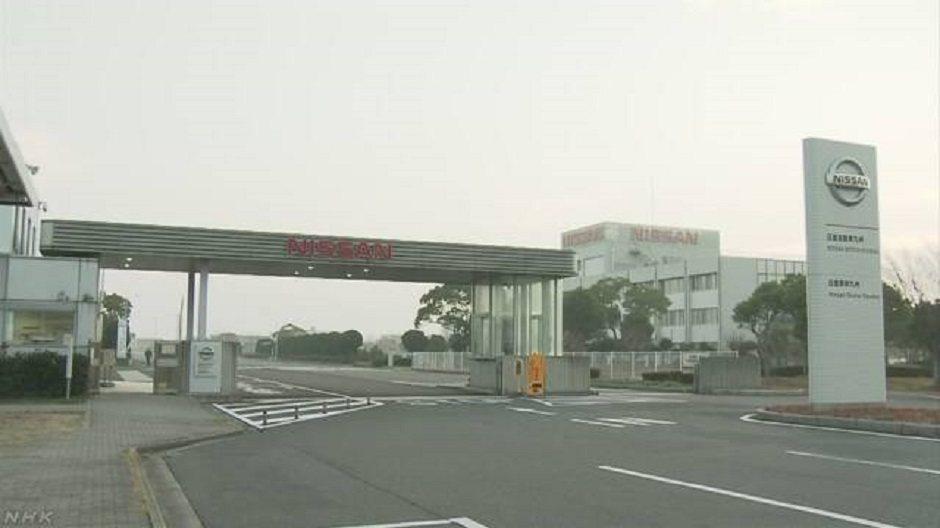 Nissan成為第一家因為疫情暫停國內生產的日本車廠。 圖/摘自NHK