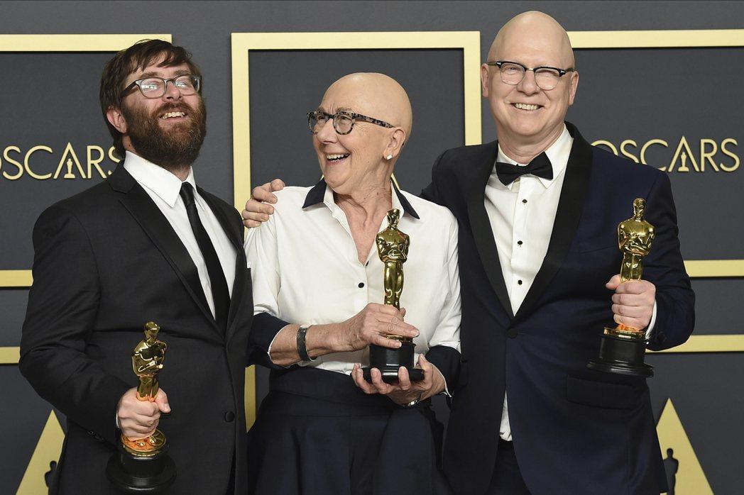 「美國工廠」獲得第92屆奧斯卡最佳紀錄片獎。 圖/美聯社
