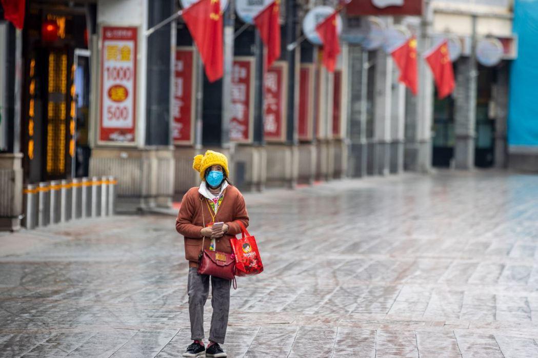 武漢肺炎疫情加劇,廣東在2月8日宣布封城。 圖/歐新社